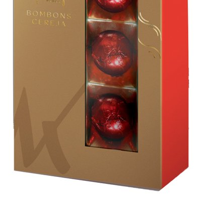 Bombons de Chocolate ao Leite Cereja ao Licor Kopenhagen 150g