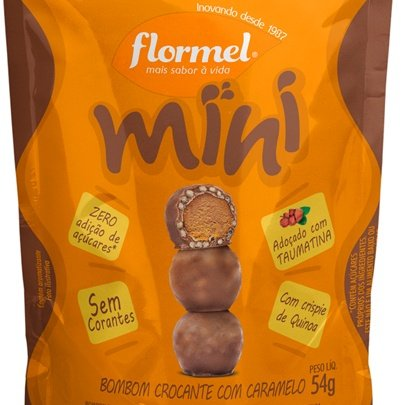 Mini Bombom Caramelo Flormel