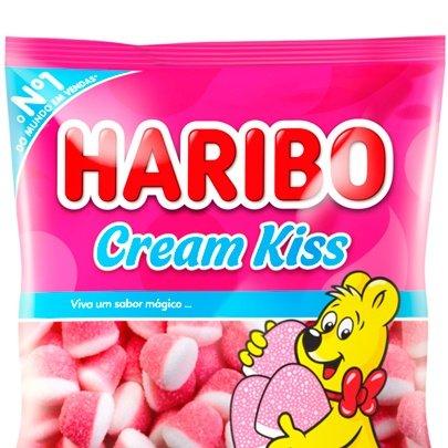 Bala Gelatina Cream Kiss Haribo