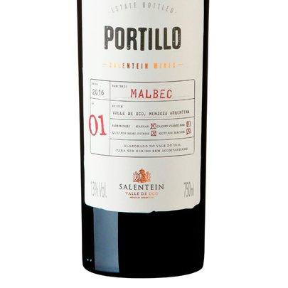 Vinho Portillo Malbec Zahil