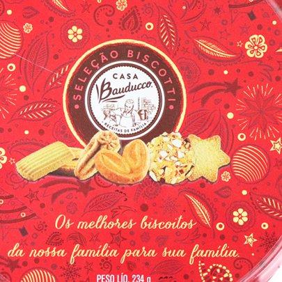 Lata Biscoito Casa Bauducco 234g