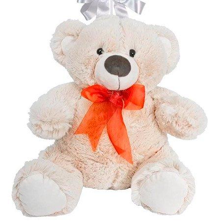 Balão Eu Te Amo e Urso de Pelúcia Dudu