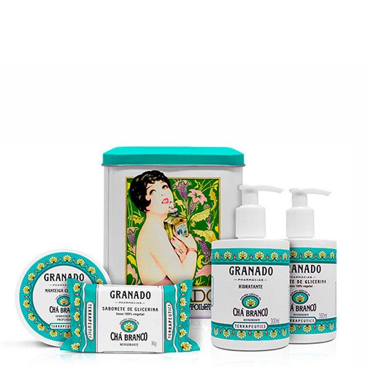 Kit Terapeutics Chá Branco Granado