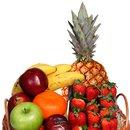 Cesta com Mix de Frutas