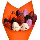 Buquê de Morangos Halloween