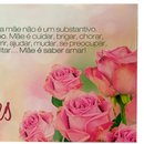 Cartão A Palavra Mãe