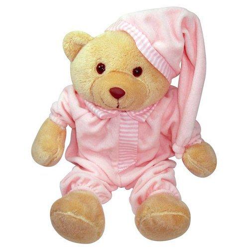 Urso Dorminhoco Rosa