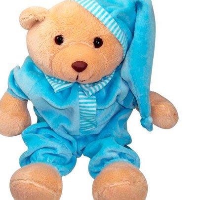 Urso Dorminhoco Azul