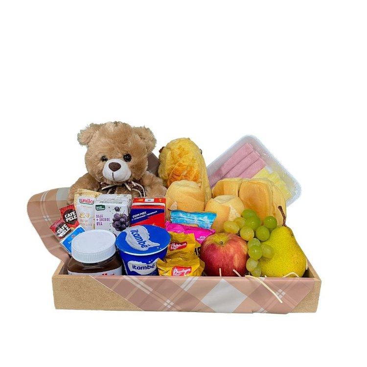 Bandeja Café da Manhã Com Urso