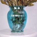 Arranjo Desidratado Flora Delicada Azul + Vaso