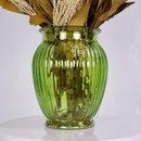Arranjo Desidratado Flora Delicada  + Vaso Verde