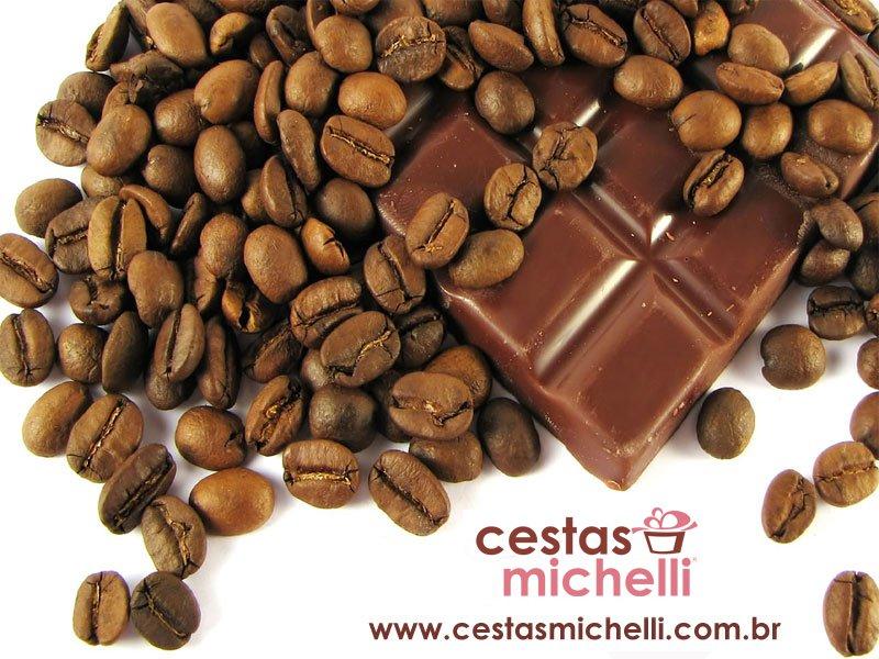 Miniatura de Foto de Tela de Fundo de Chocolate e Café